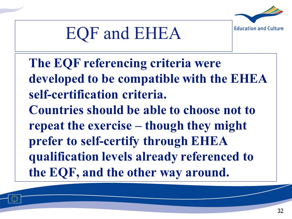 EQF and EHEA