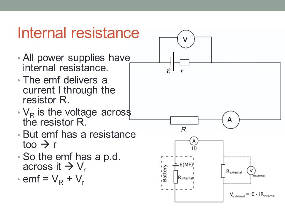 Voltage Current Resistance : Topic electric potential difference current and
