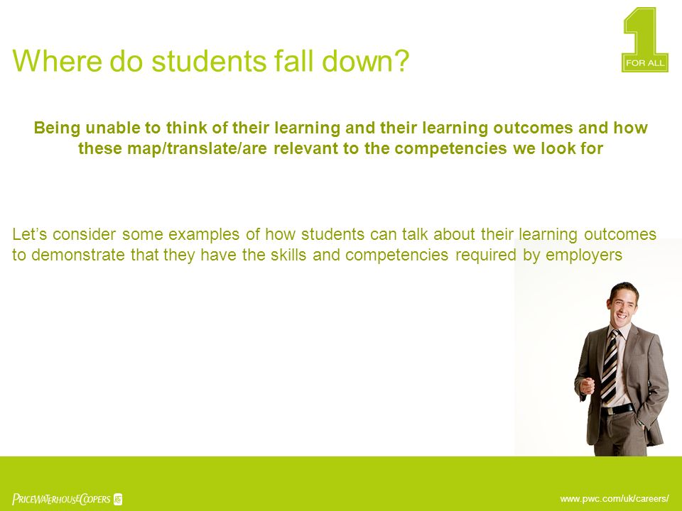 Where do students fall down