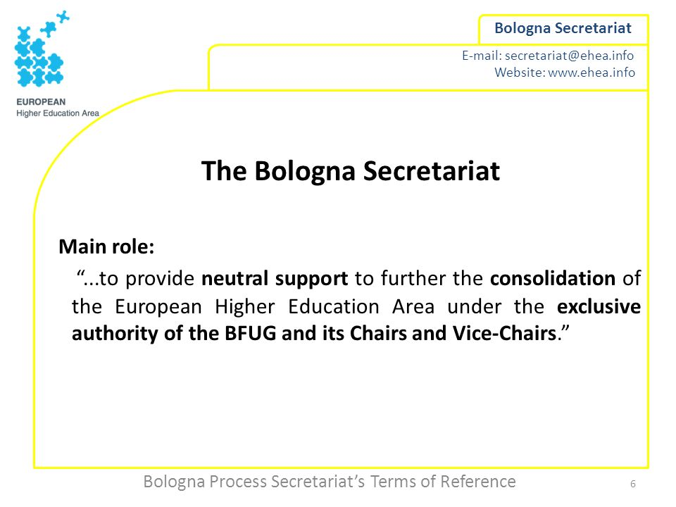 The Bologna Secretariat