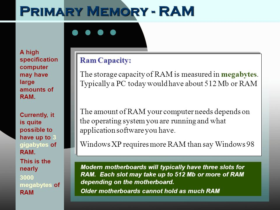 how to tell ram capacity windows 10