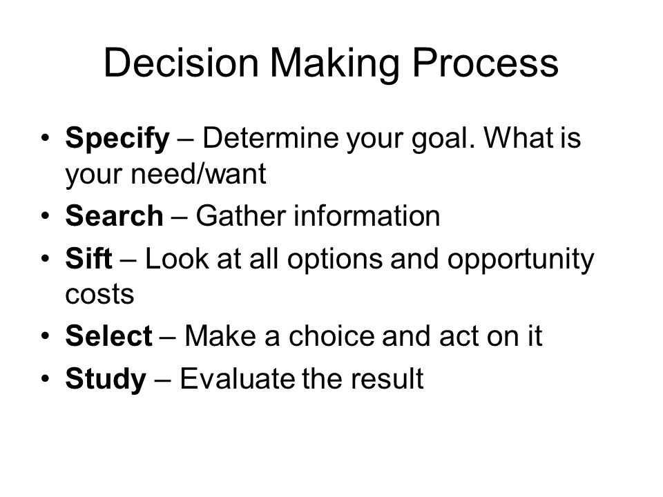 a discussion on the process of decision making A description of the decision-making process as one of the most important skills in management  4 pages an analysis of different decision-making models 1,031 words 2 pages an argument in favor of international banking 4,327 words 10 pages the decision making process regarding plans for the future  a discussion of the common.