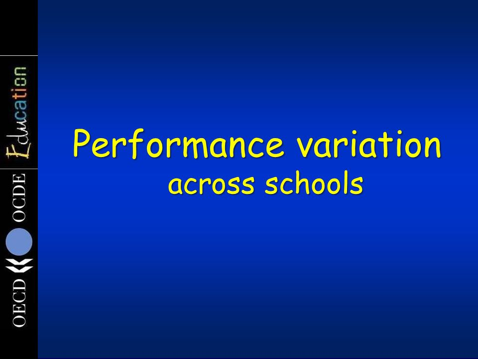 Is it all innate ability Variation in student performance