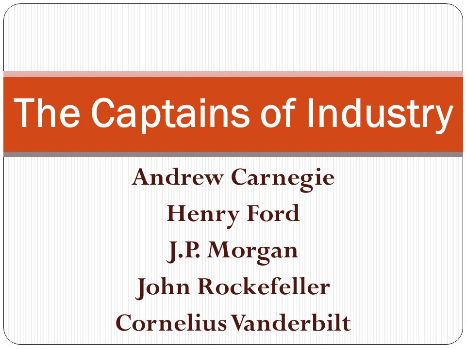 robber baron or captain of industry a paper on rockefeller We will write a custom essay sample on captain of industry or robber baron specifically for  related essays leland stanford – robber barron or captain of industry  john d rockefeller as a captain of industry  john d rockefeller and andrew carnegie  at studymoosecom you will find a wide variety of top-notch essay and term paper.
