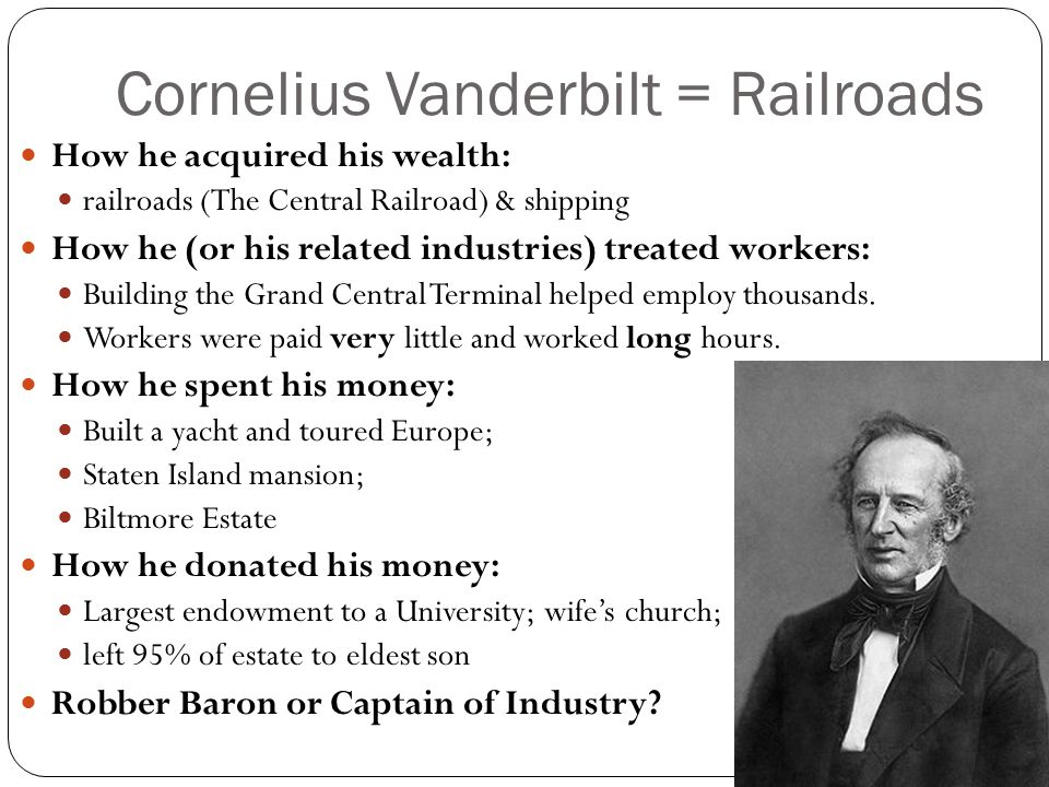 the captains of the railroad industry Leland stanford was one of the big four captains of the railroad industry with his partners, collis huntington, charles crocker, and max hopkins, stanford developed the railroad system in california and made the entire west easily accessible.