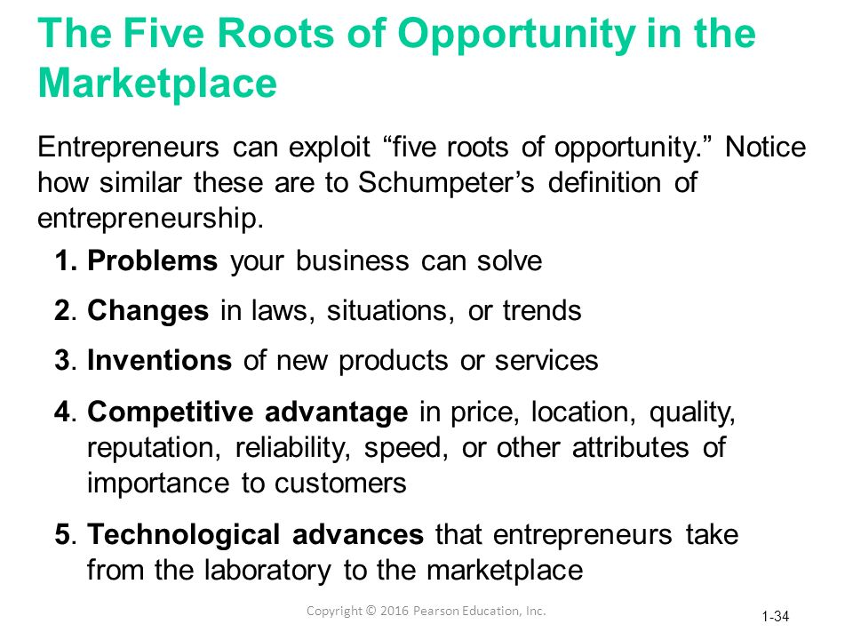 Chapter 1 Entrepreneurs Recognize Opportunities - Ppt Download