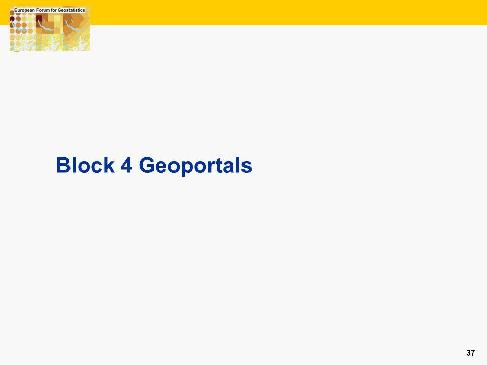 Block 4 Geoportals