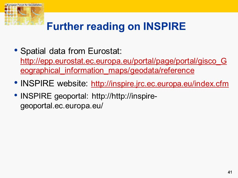 Further reading on INSPIRE