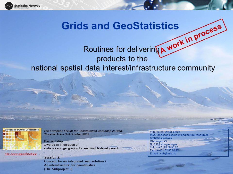 Grids and GeoStatistics