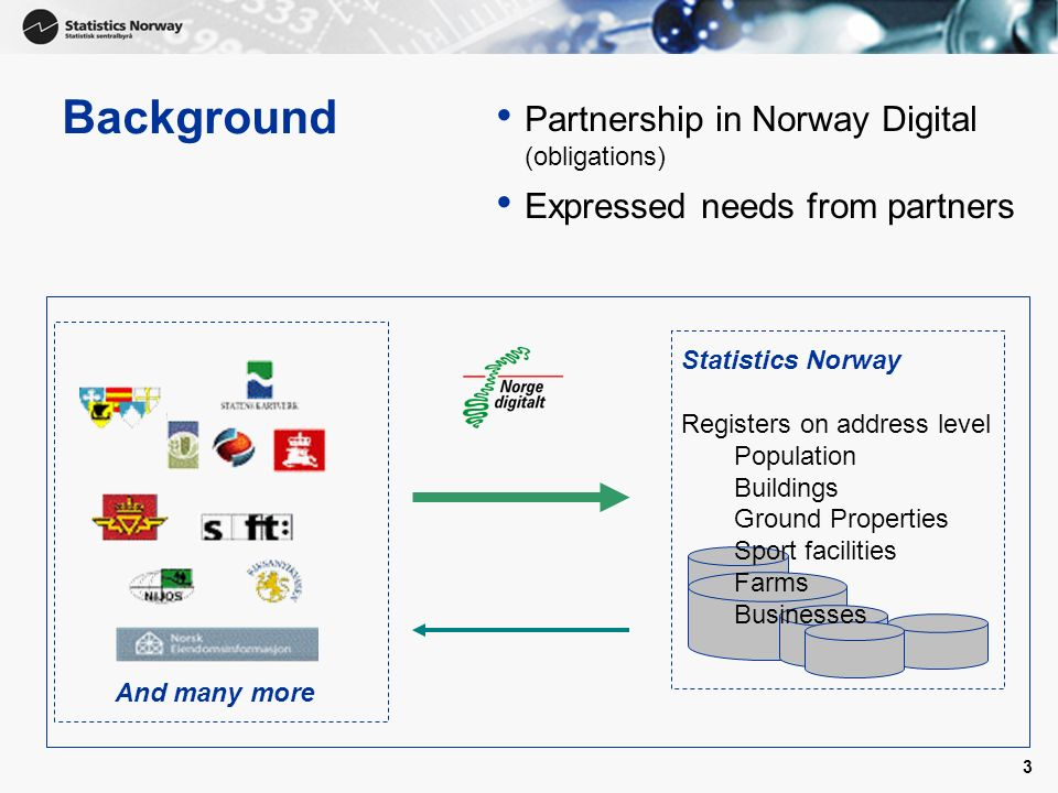 Background Partnership in Norway Digital (obligations)