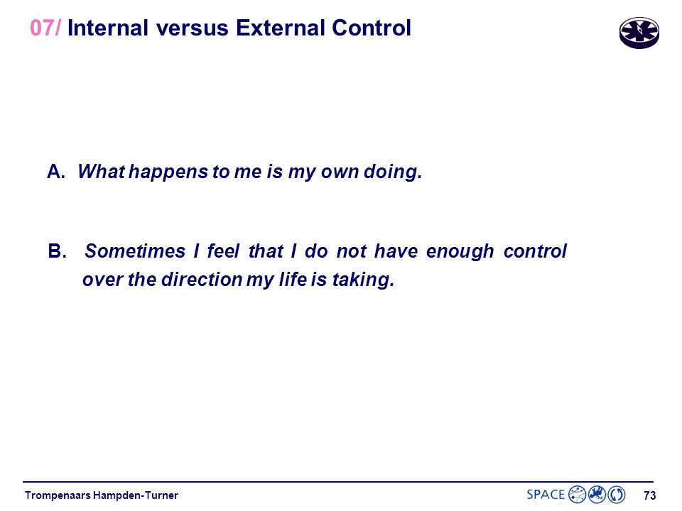 07/ Internal versus External Control