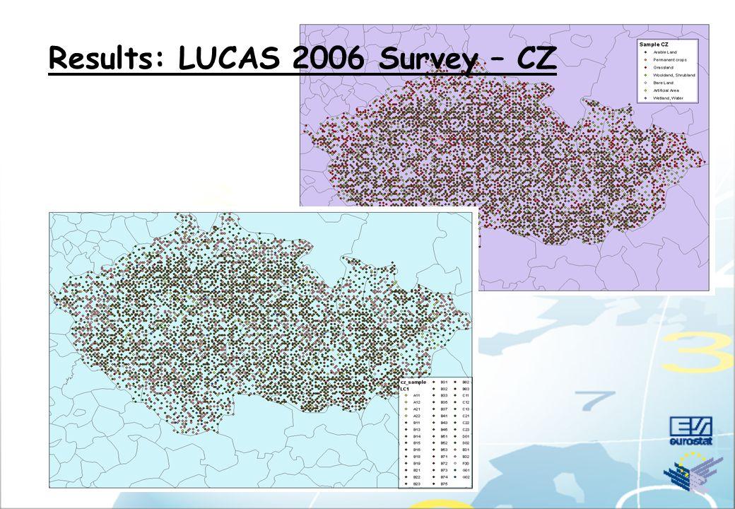 Results: LUCAS 2006 Survey – EU11