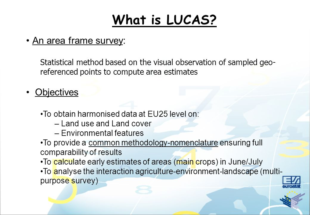 What is LUCAS Methodology Results Conclusions