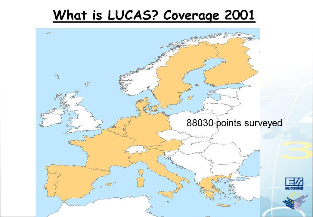 What is LUCAS - Calendar of activities