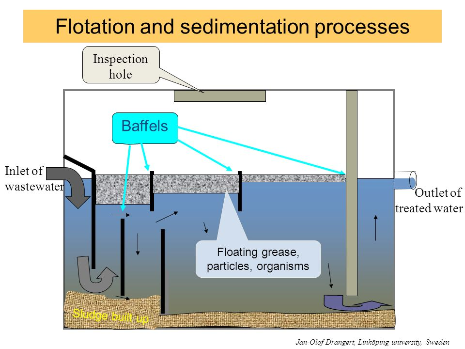 Flotation and sedimentation processes