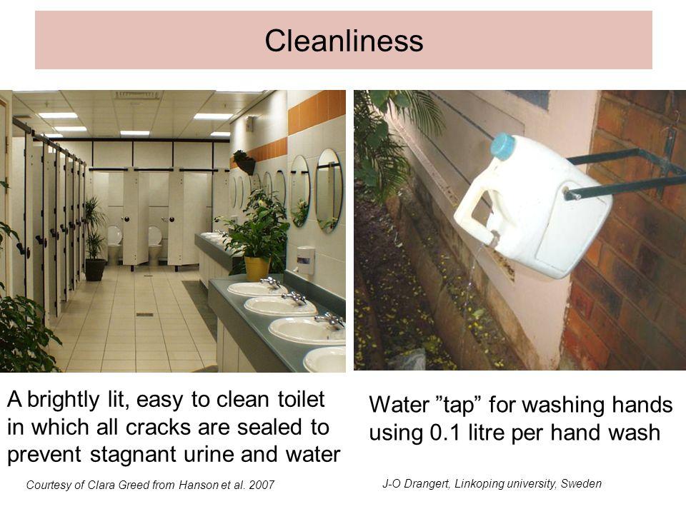 Cleanliness Beskär vattendunken så att detaljerna syns bättre.