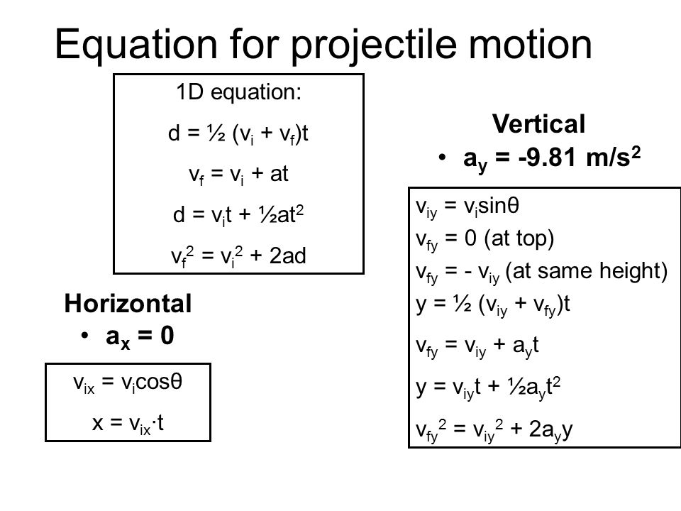 introduction to projectiles Projectile motion is a form of motion experienced by an object or particle (a projectile) that is thrown near the earth's surface and moves along a curved path under.