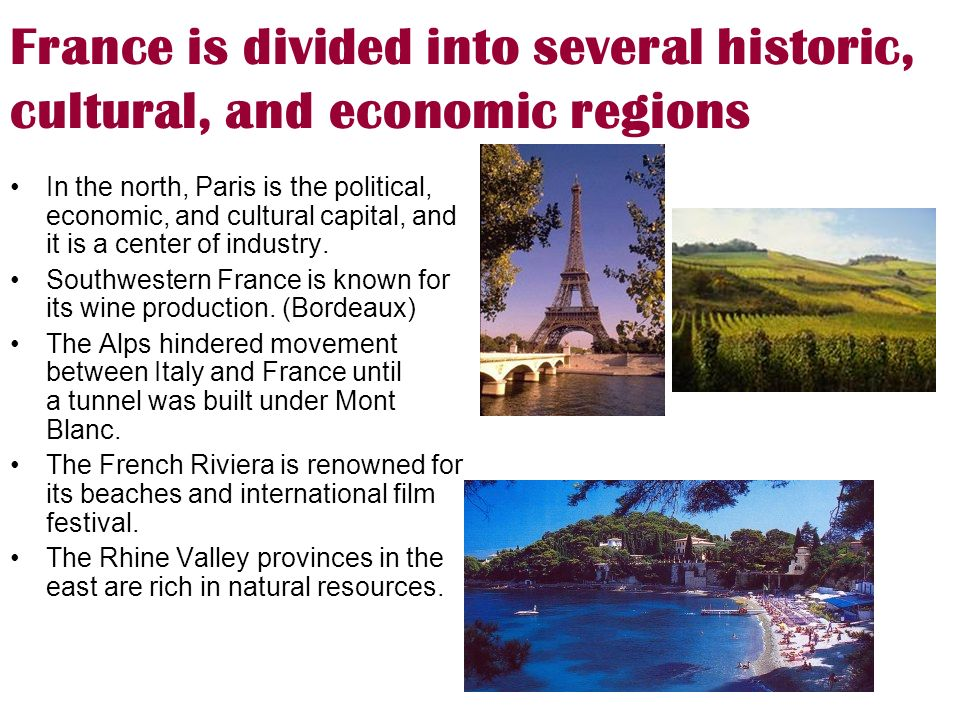 france and its culture Despite the apparently formal culture of business in france, the agenda of  bar  association as an approved training institute for its members.