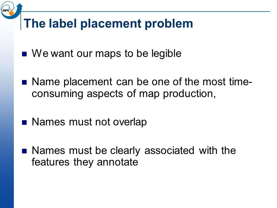 The label placement problem