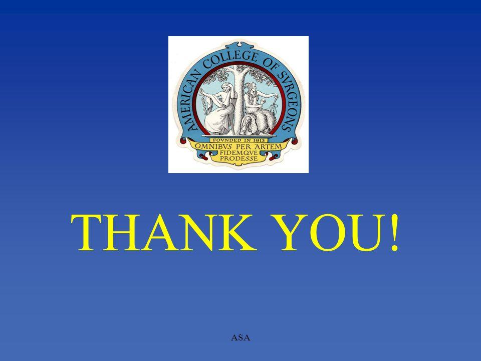 THANK YOU! ASA