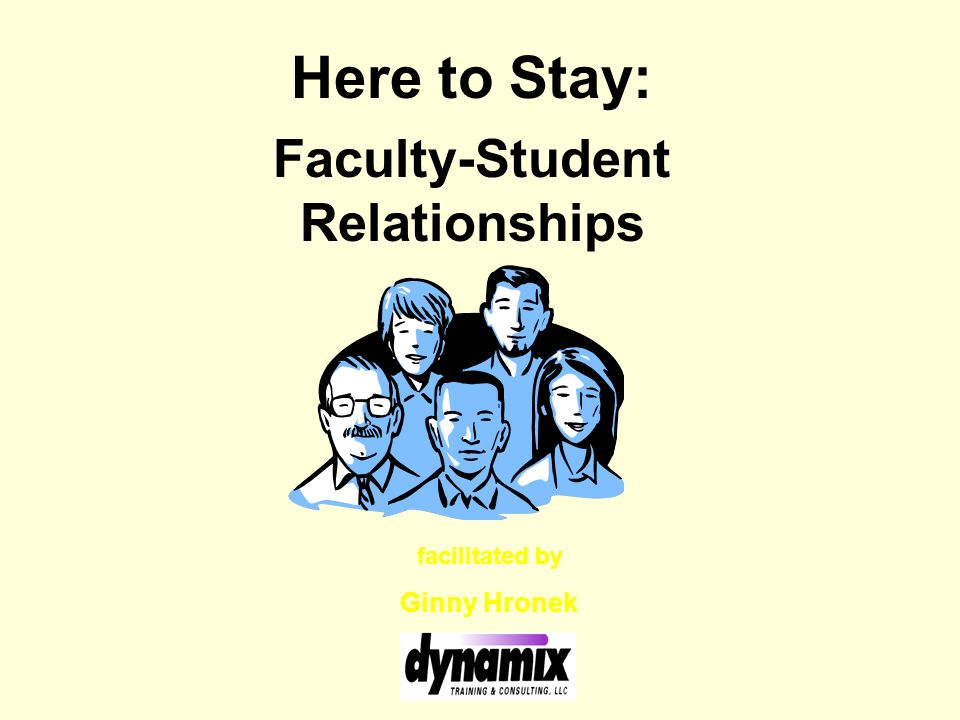 Faculty-Student Relationships