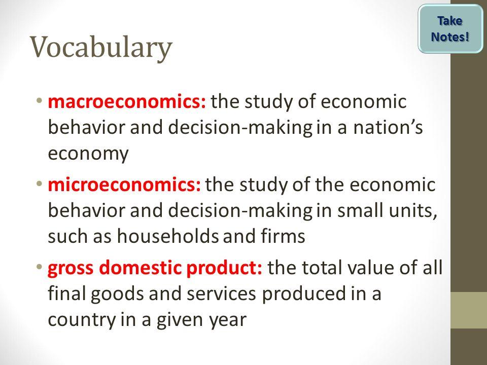 difference between micro n macro economics