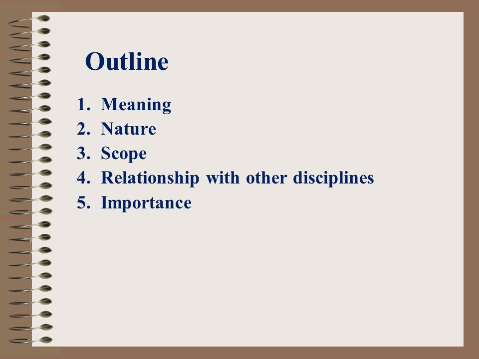 business policies nature scope and importance