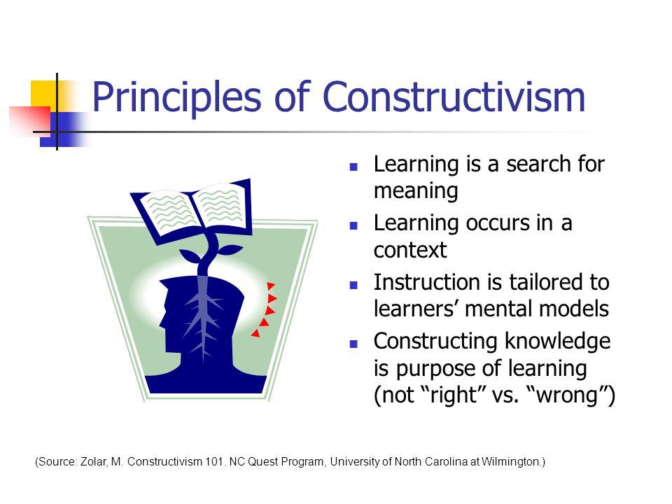 Principles of Constructivism