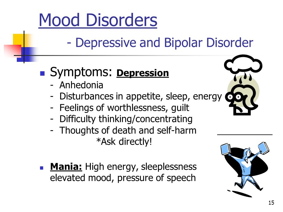 Mood Disorders - Depressive and Bipolar Disorder