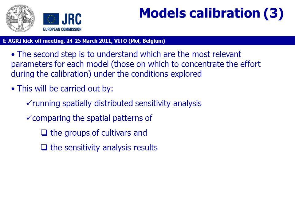 Models calibration (3)