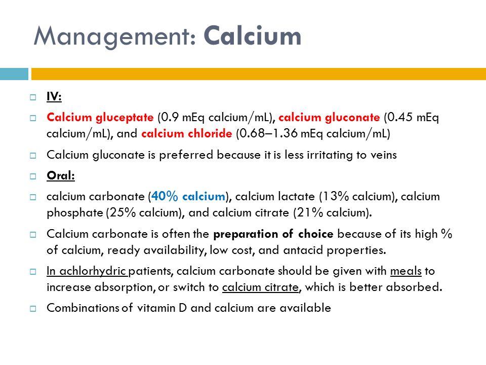 Calcium Citrate Vs Calcium Carbonate Vs Coral Calcium