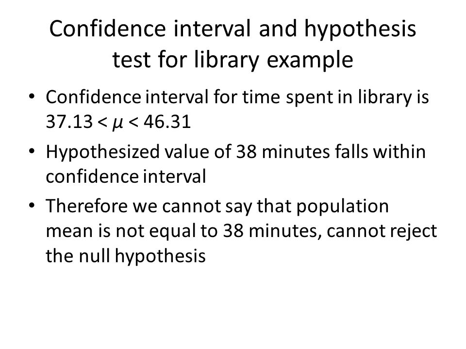 INTRODUCTION TO HYPOTHESIS TESTING - ppt video online download