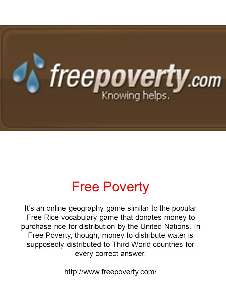 Free Poverty