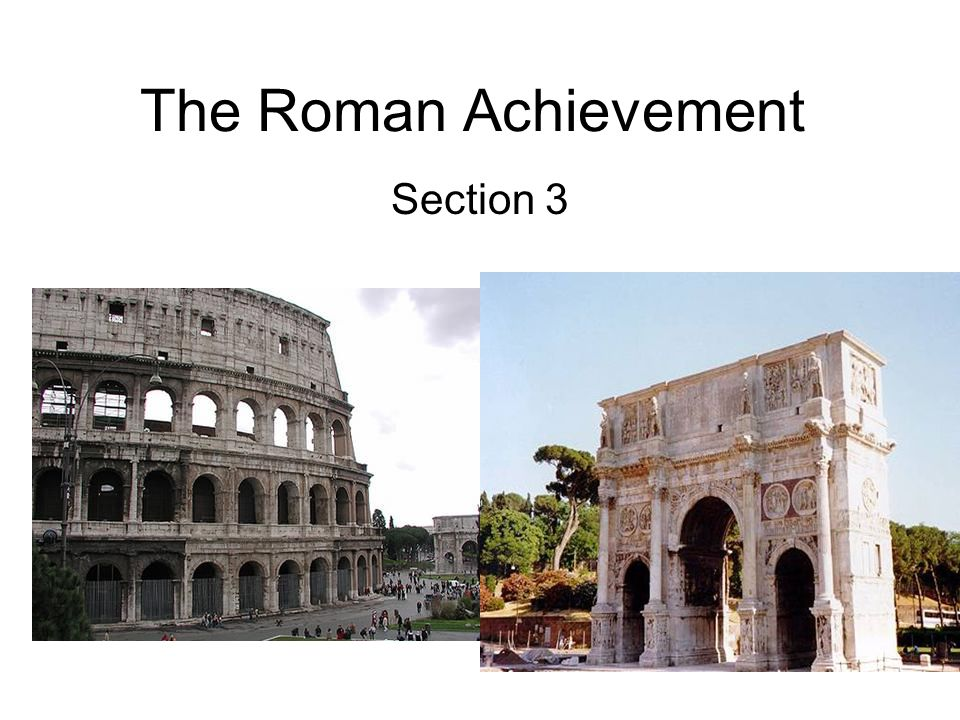 augustus achievements on roman society The roman achievement thereafter we can watch the unfolding of the long-range effects in culture and societybesides the earthly savior augustus there was.