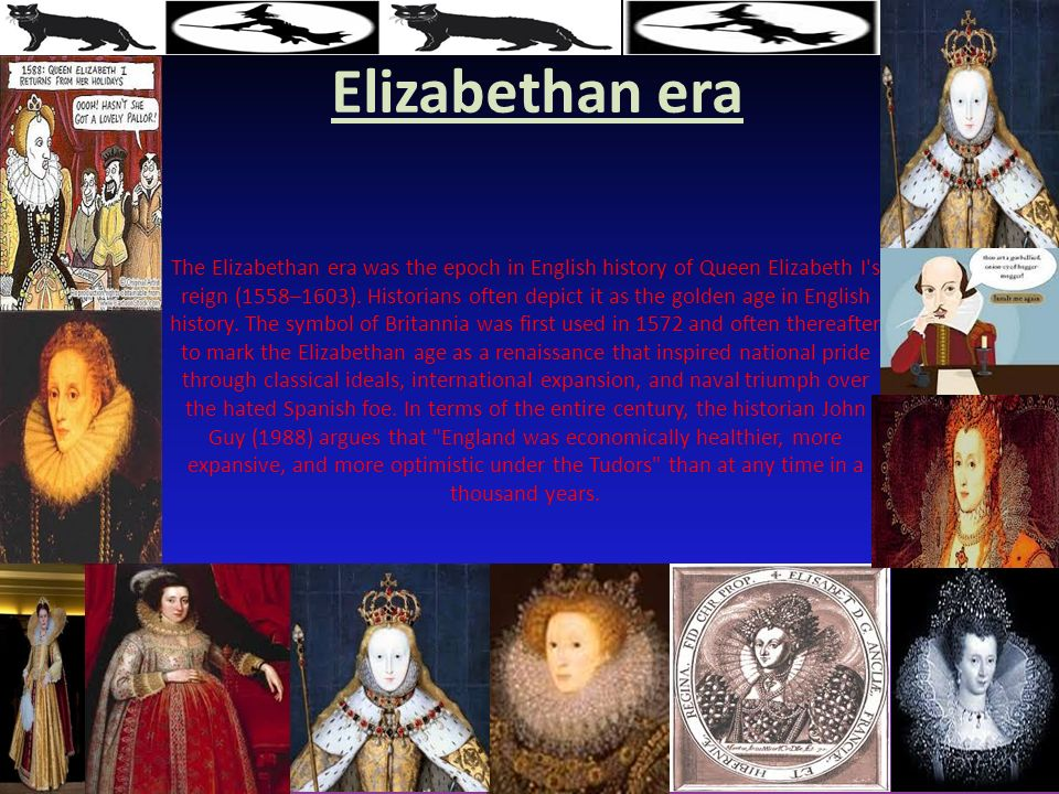 the elizabethan era the golden age How can the answer be improved.