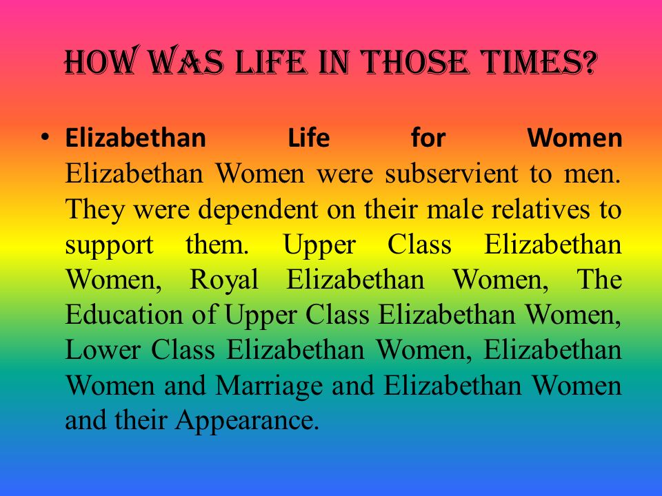dating and marriage in elizabethan times Dating in elizabethan times published: 27122017 reflections on tudor women for example, the act of a betrothal was typically sealed with a kiss only the most wealthy people allowed their daughters to be taught, and only at home.