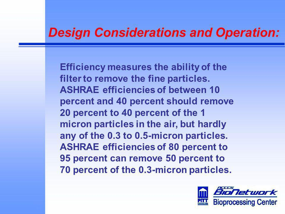 Design Considerations and Operation: