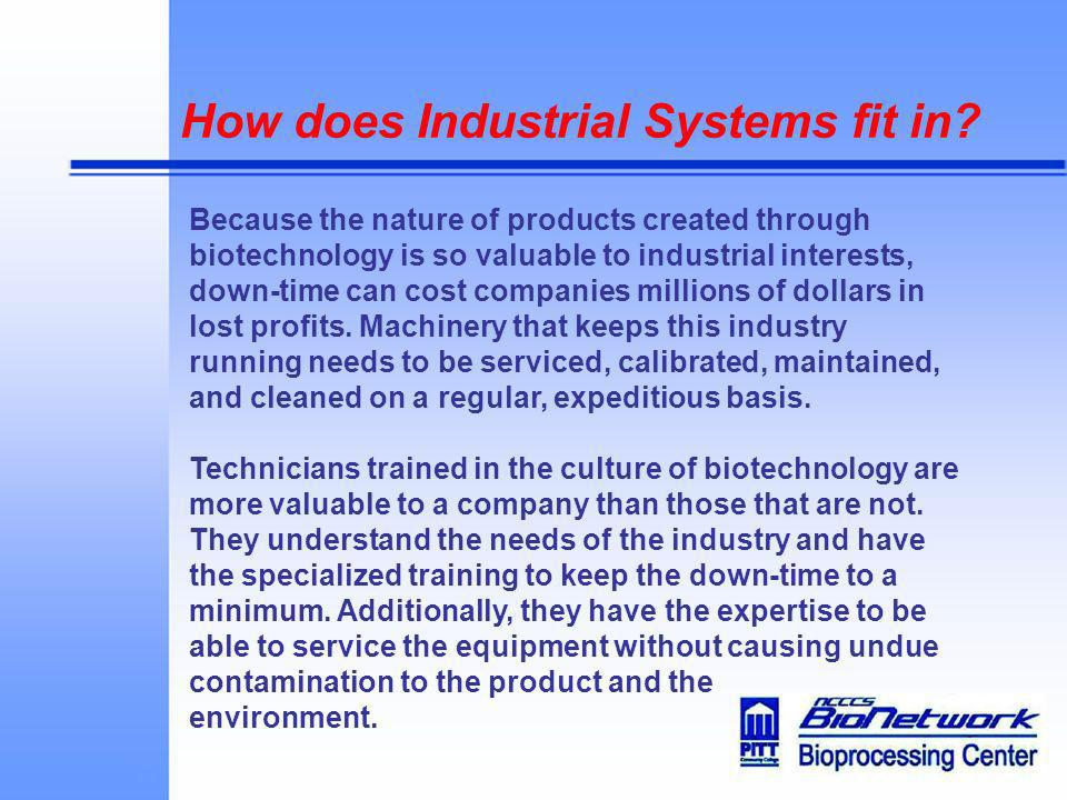 How does Industrial Systems fit in