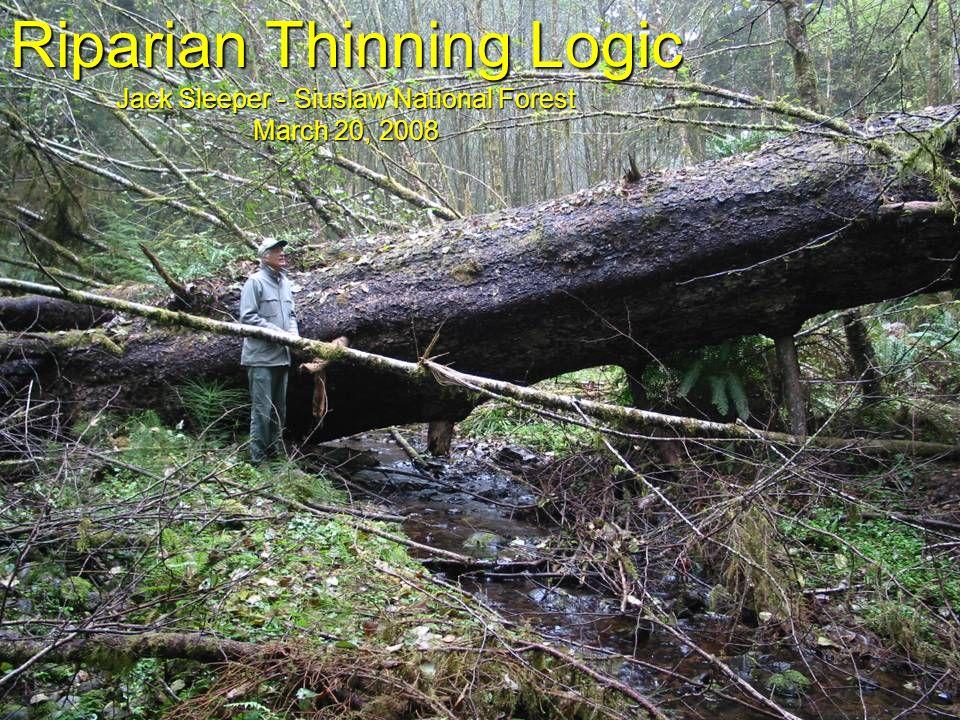 Riparian Thinning Logic