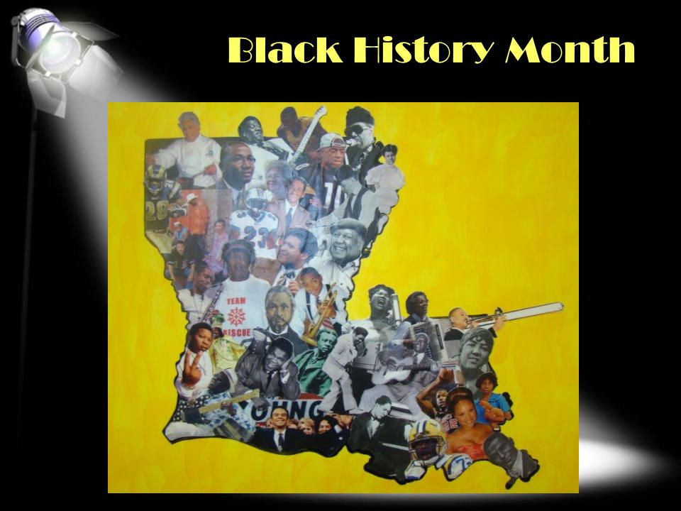 Black History Month HOLIDAYS