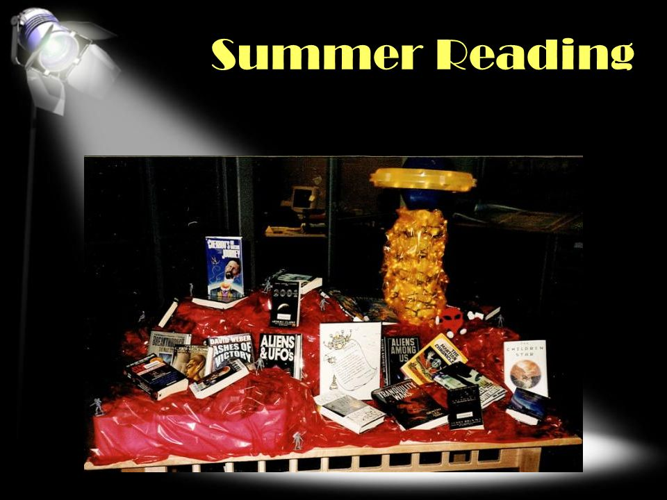 Summer Reading SEASONAL