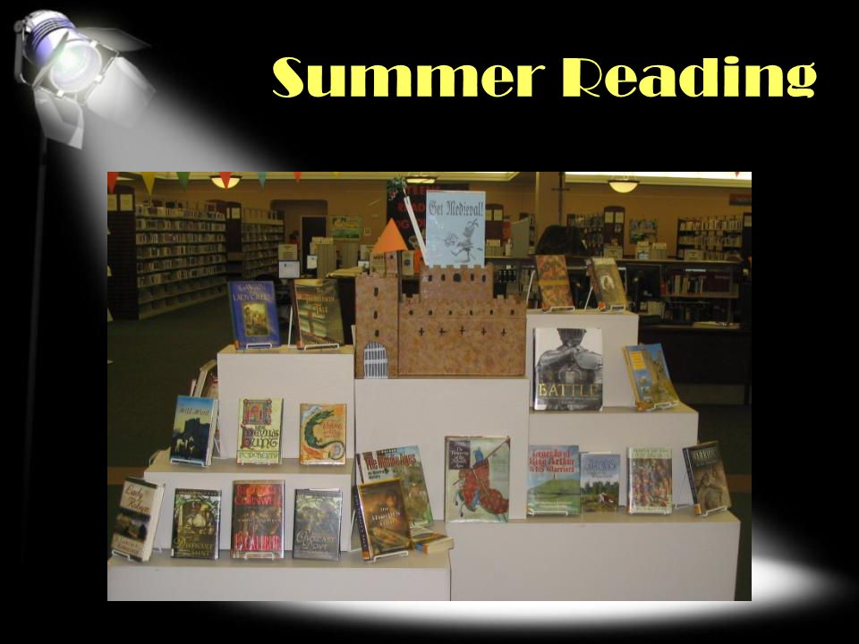 Summer Reading SEASONAL Other ideas: Back to school