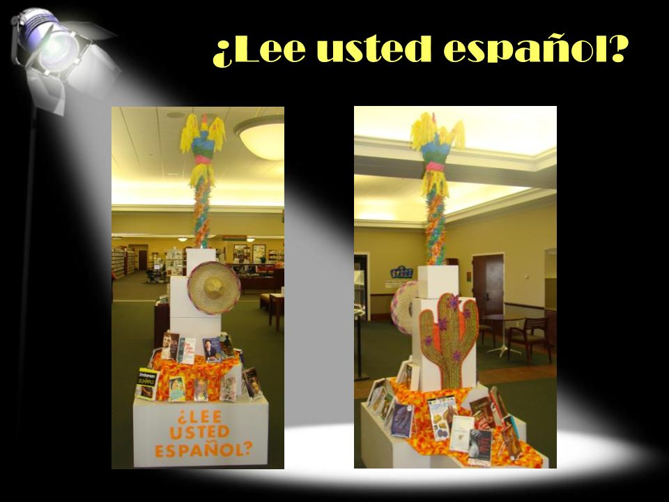 ¿Lee usted español COLLECTION/GENRE/SUBJECT FOCUS