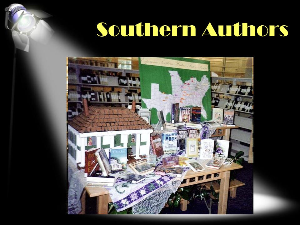Southern Authors COLLECTION/GENRE/SUBJECT FOCUS Click second pic