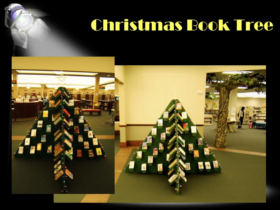 Christmas Book Tree OVER THE TOP Click second pic