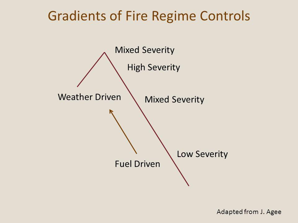 Gradients of Fire Regime Controls