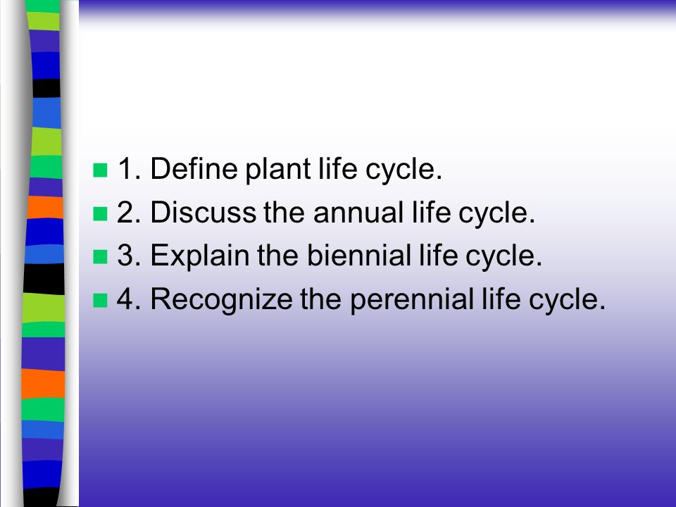Understanding Plant Life Cycles - ppt video online download