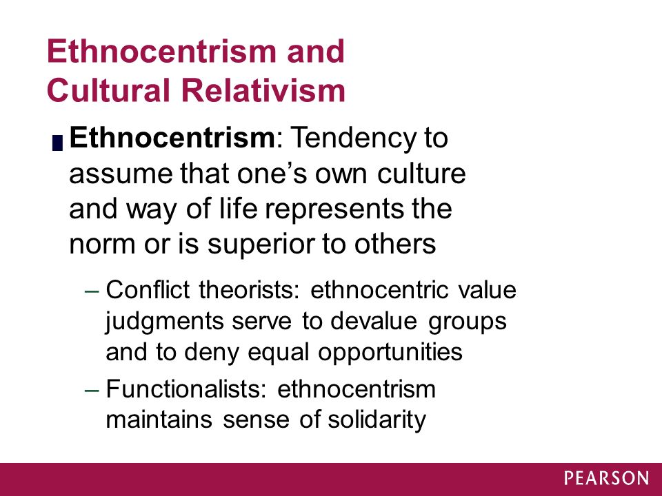 ethnocentrism and cultural relativism Cultural relativism and ethnocentrism we are living in a multicultural world and  obviously the ongoing interaction between different cultures has become.