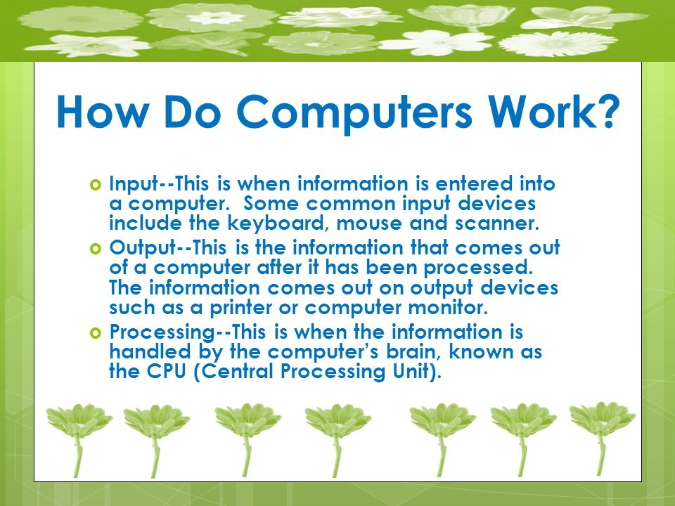 how computers work the cpu and This project gives students a firm understanding of how computers work and  solidifies computer functionality from boolean gates to a complete processor of.