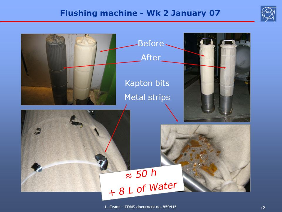 Flushing machine - Wk 2 January 07